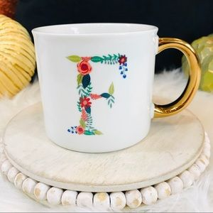 Opalhouse Monogramed Porcelain Mug 16oz